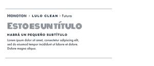 Monoton, Lulo Clean & Futura