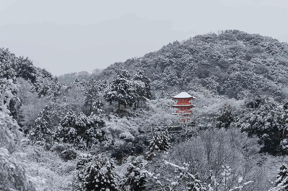 Kyoto in winter