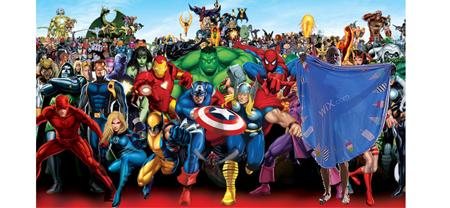 Imagen 15: Opher + los Superhéroes de Marvel