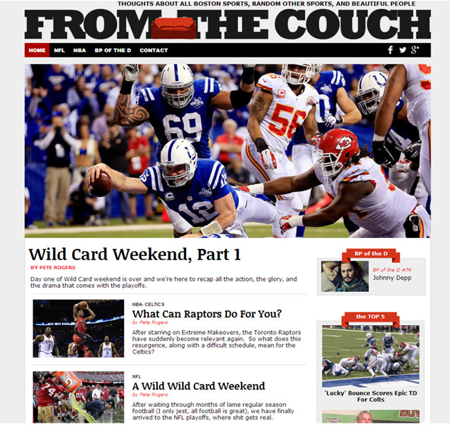 From the Couch Sports