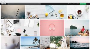 Usa Pexel para encontrar imágenes