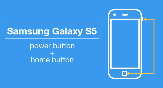 Samsung Galaxy Screenshot