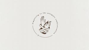 「手」を使ったロゴ