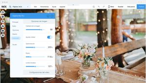 La Galería Wix Pro te da control absoluto sobre las imágenes de tu web