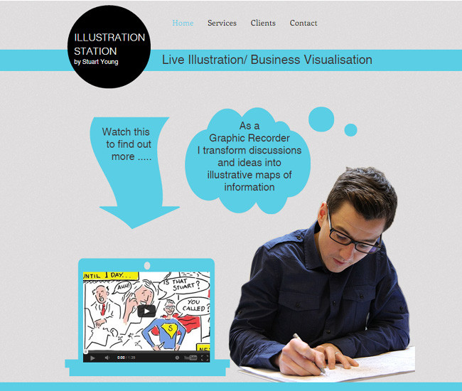 Illustration Station - Live Illustration >