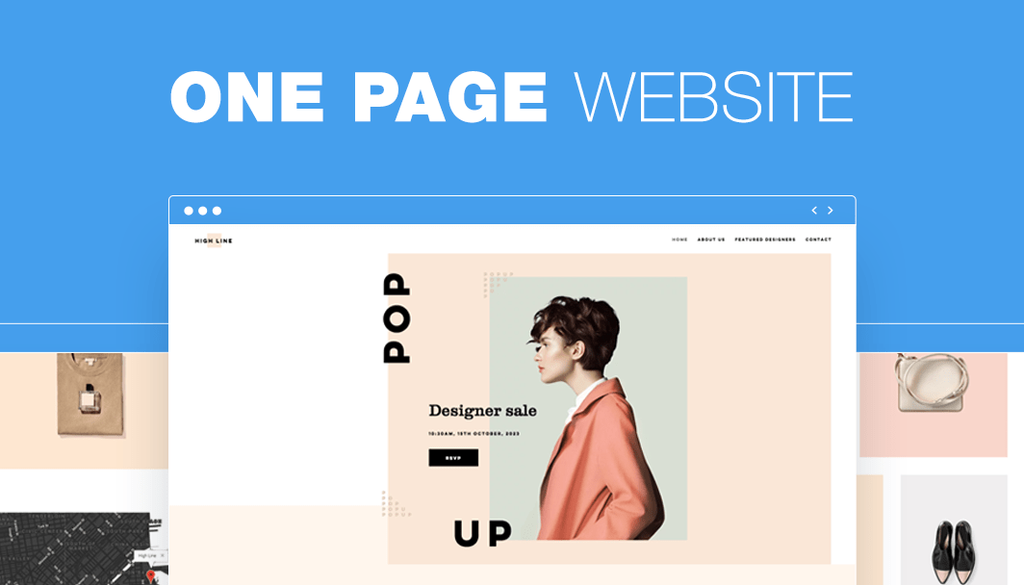 How to Create a Beautiful One-Page Website