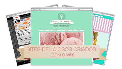 Sites Deliciosos Criados Com o Wix