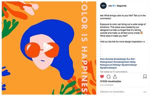 Exemplo de Post para Instagram