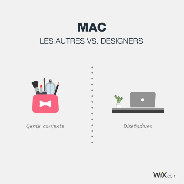 Diferencias entre diseñadores y gente corriente