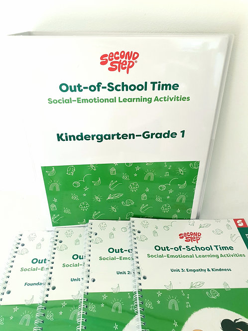 Out-Of-School Time Kindergarten - Year 1 Program