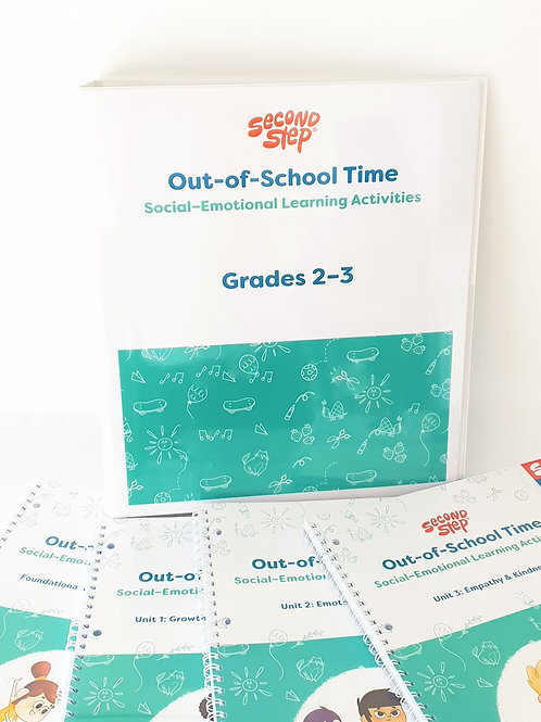 Out-Of-School Time Years 2 - 3 Program