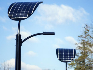 Solar Street Poles and Benches as an active part of Smart City concept