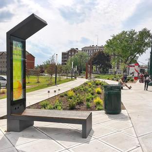 Smart Solar Bench Client: City of Schenectady, New York