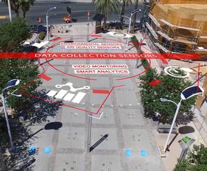 smart solar powered led street lights poles