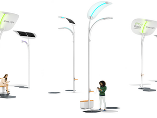 Solar Street Lights for Pathways & Sidewalks