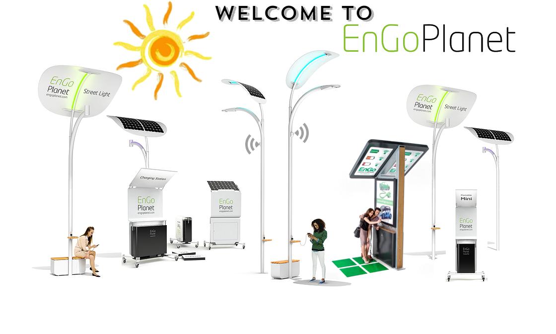 Concept Of Smart Solar Street Light Smart Solar Street