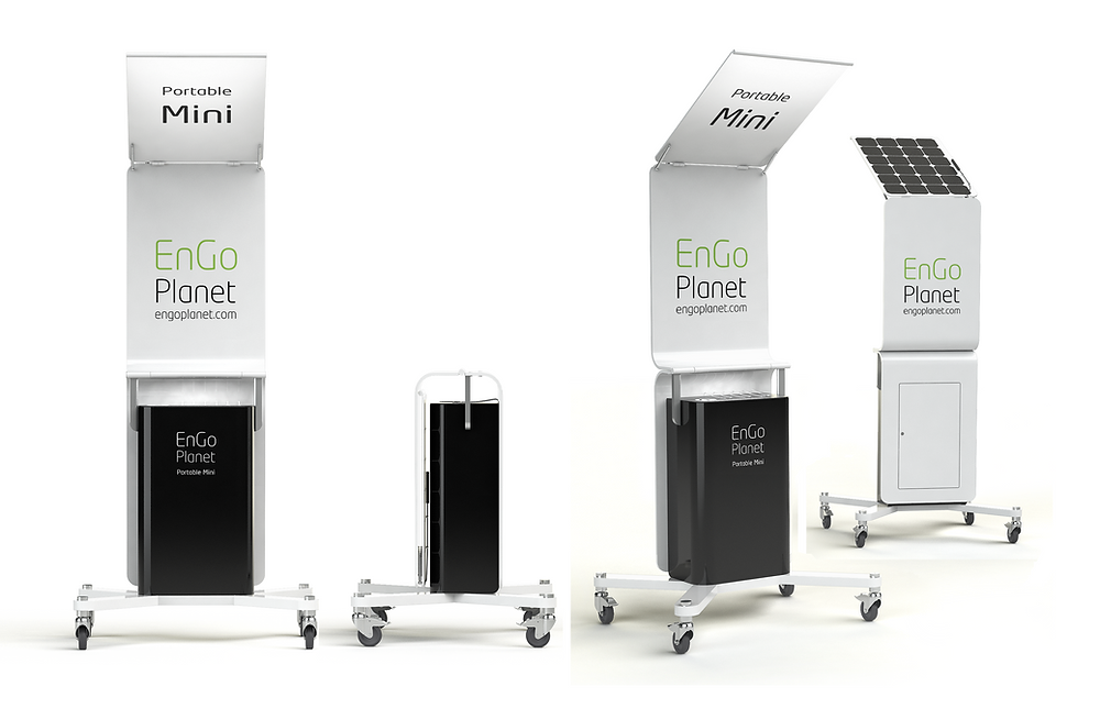 Portable Solar Charging Station