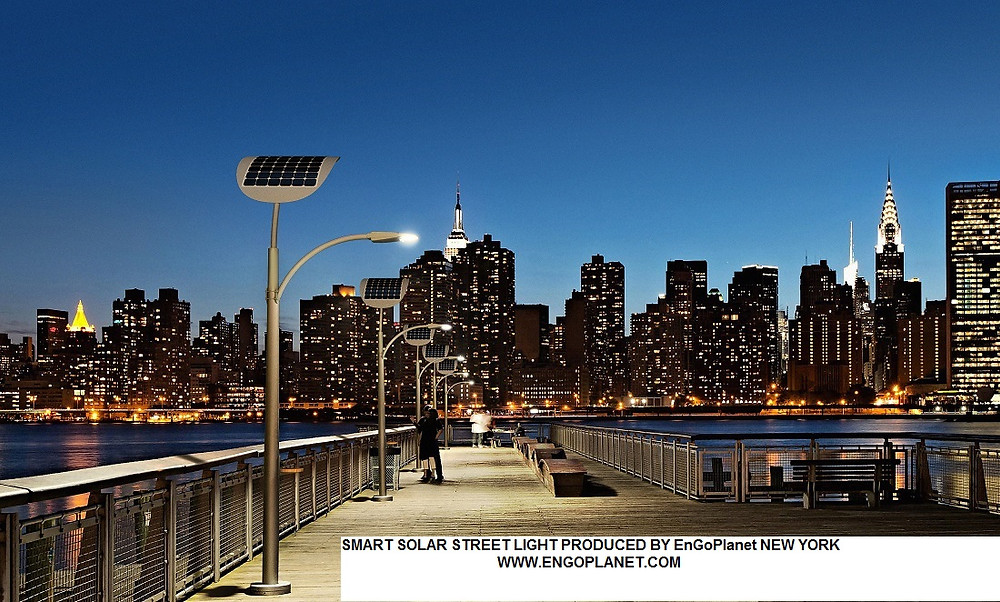 smart solar led street light cost price