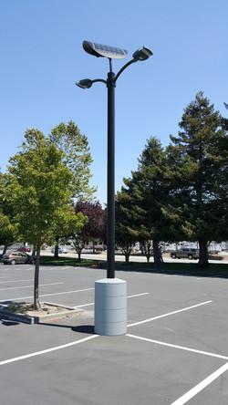 SOLAR STREET LIGHT FOR PARKING LOTS