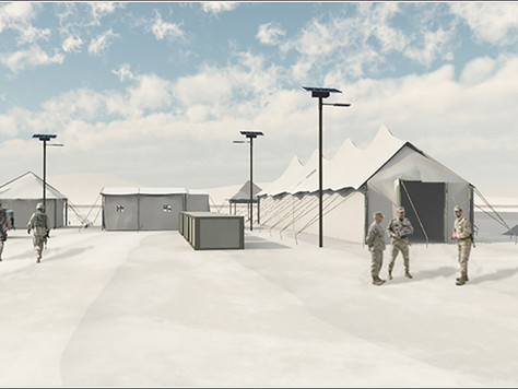 SMART SOLAR LIGHTING SYSTEMS REDUCE MILITARY BASE COSTS AND INCREASE SECURITY