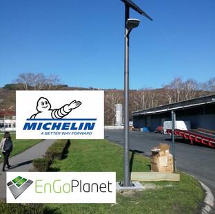 Standard Solar Street Light Client: Michelin