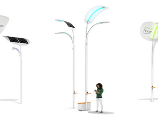 Use of Technology in buliding sustainable planet - A Solar Street Lights combined with kinetic ener