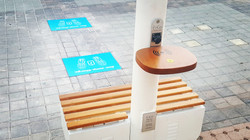 Charging Station on the Pole