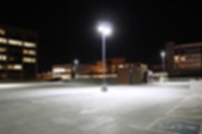 solar street light for parking lot