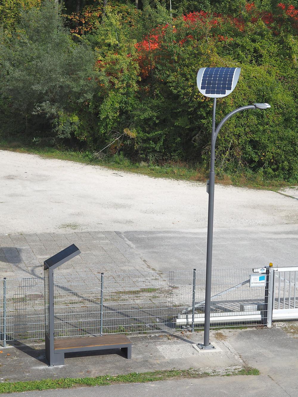 Smart Solar LED Street Lights Price Benches