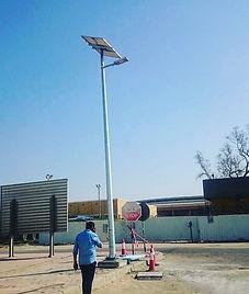Kuwait Oil Company Solar Street Light project