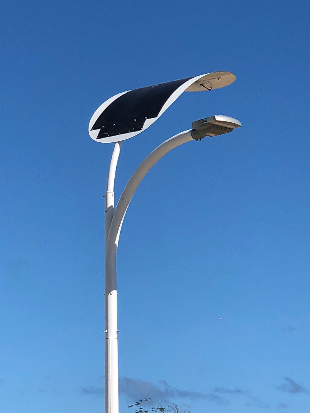 solar street light solar pole
