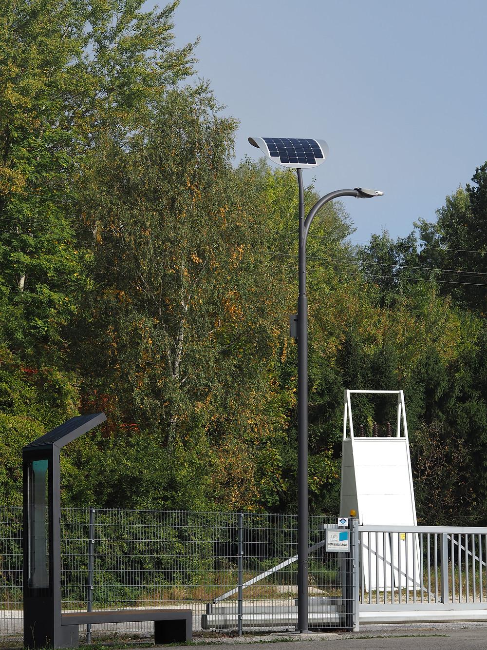 Smart LED Solar Street Lights Price Benches