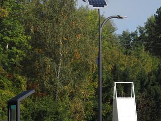 Smart LED Solar Street Lights in Europe
