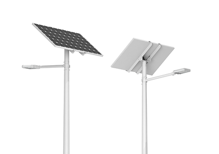 solar street lights pole