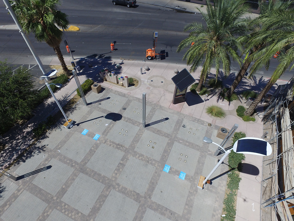 smart solar street lights led cost