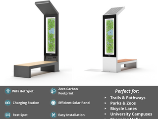 Why to buy Smart Solar bench?