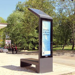 Smart Solar Bench Client: Telenor