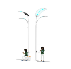 smart solar street light led