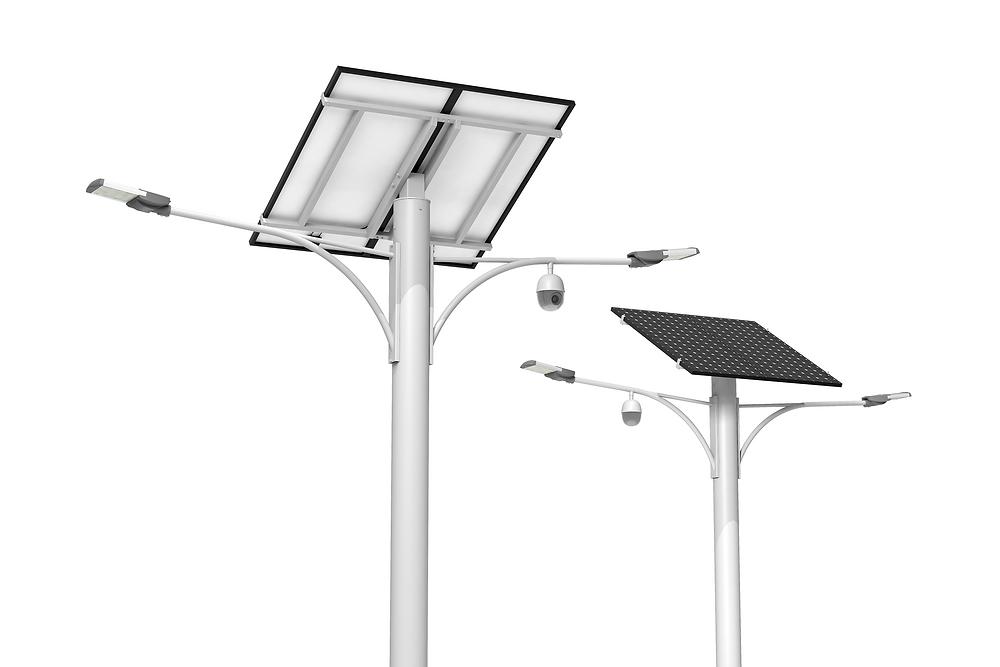 smart led solar street lights