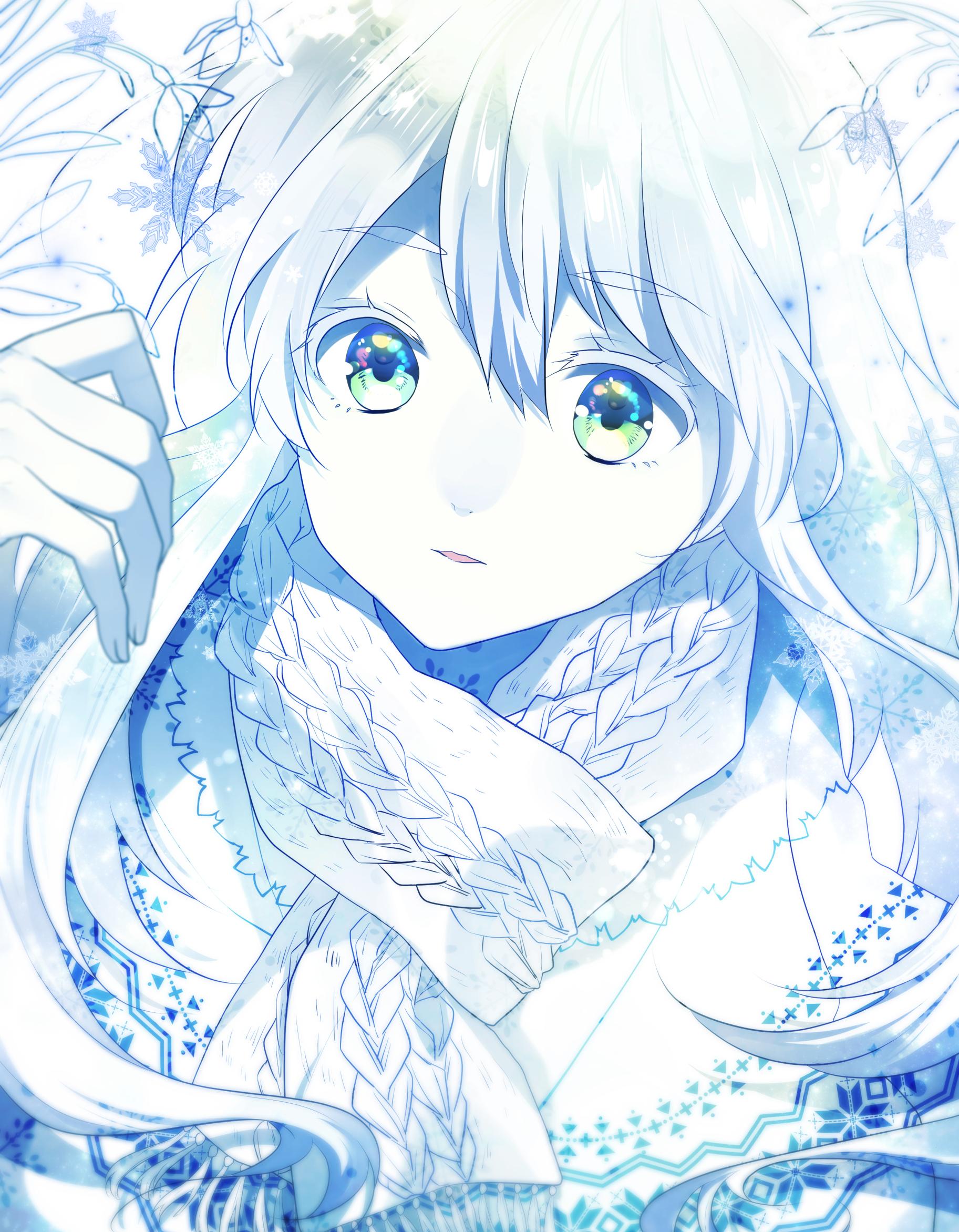 白い雪の子