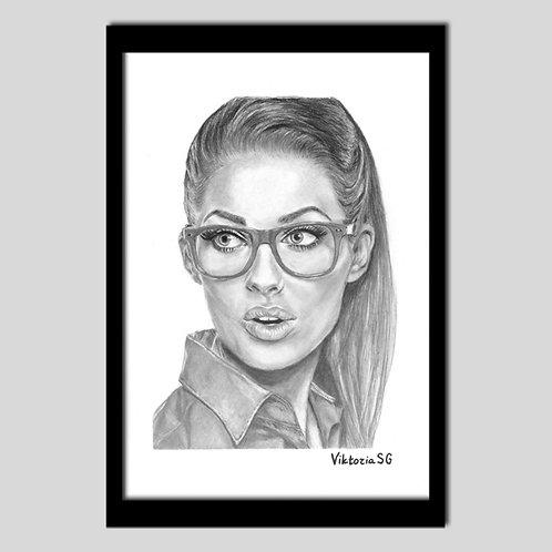 La belle aux lunettes IX