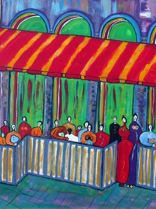 """CAFE VIEUX-MONTREAL""- 1996"