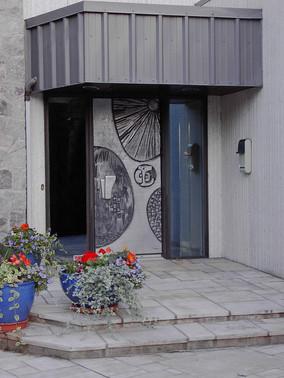 Sculpted Metal Door, 1986