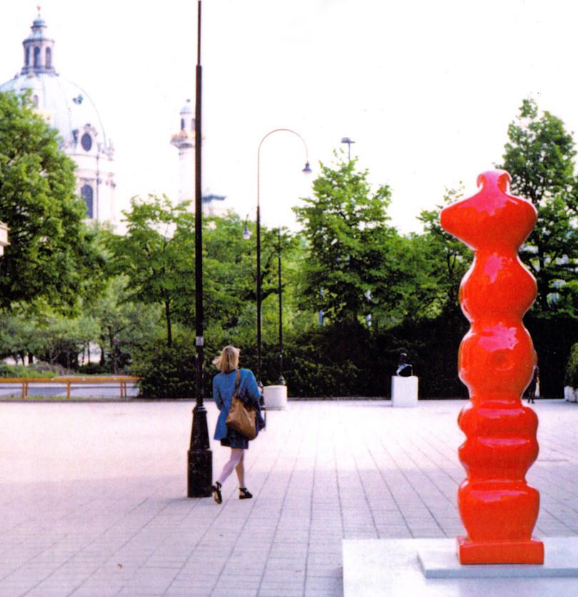 EXHIBITION, VIENNA, 1993-KunstlerHaus