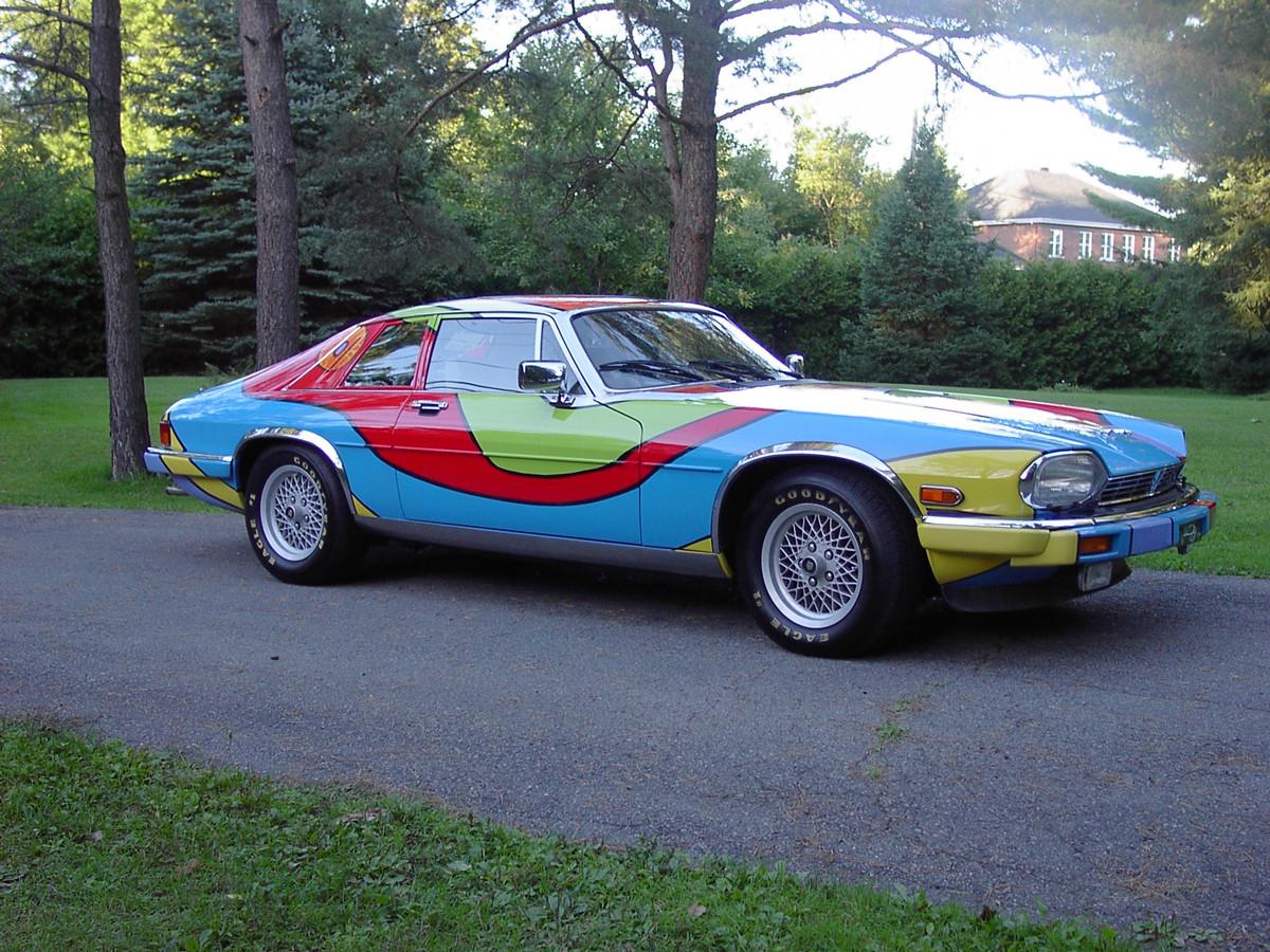 Jaguar Art Car, Right Side