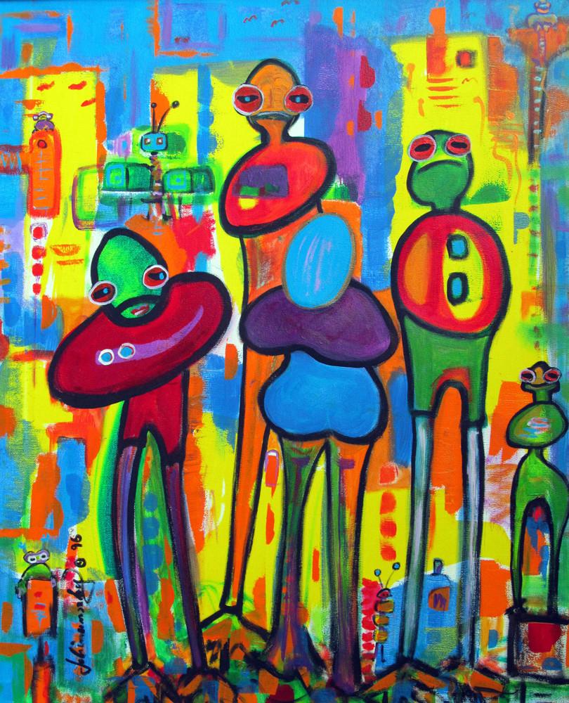 """FROG FAMILY"", 1998"