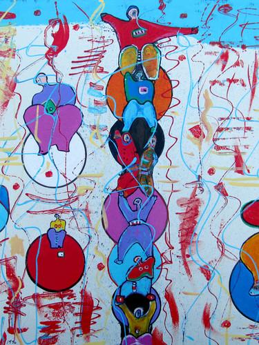 """BUBBLE PEOPLE"" - 1990"