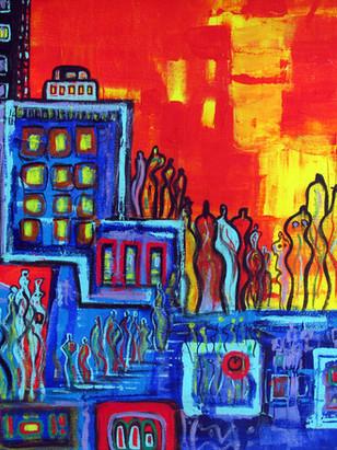 """CITY LIFE""- 1993"