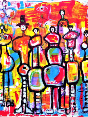 """TALL PEOPLE"" -1995"