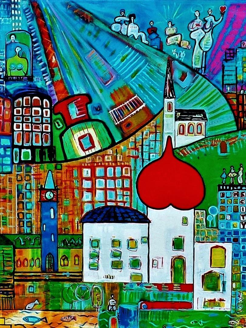 """""""MEGA  CITY"""" -1997-1998"""